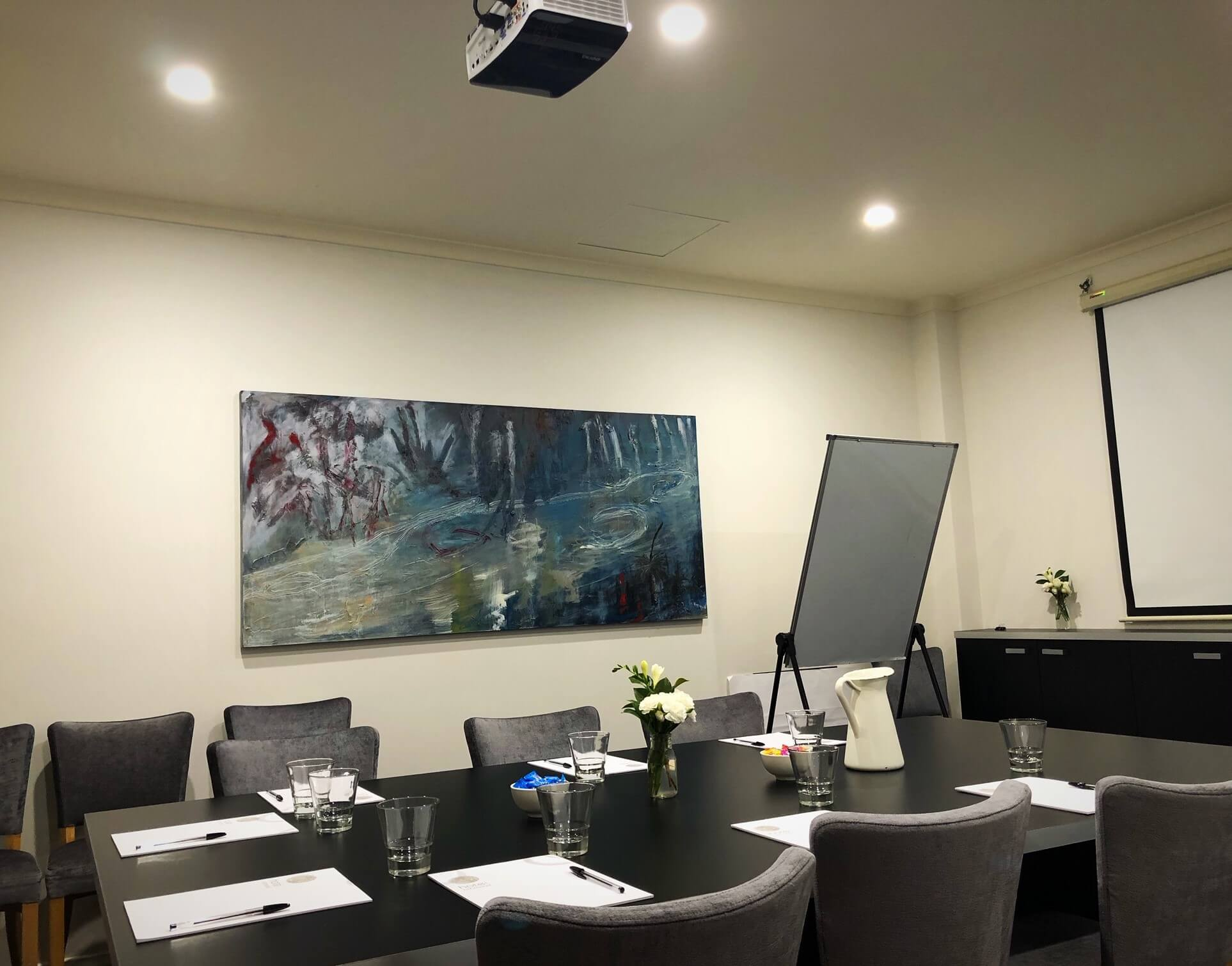 Boardroom at Hotel Richmond for up to 12 guests