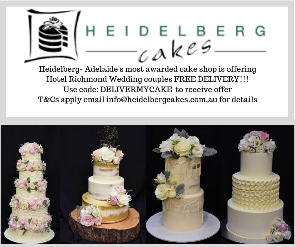 Heidelberg Cakes - Free Delivery Promo