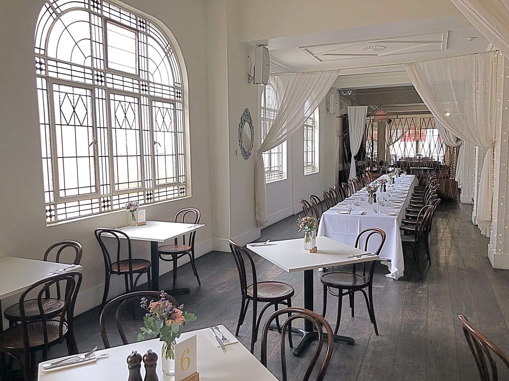 Hotel Richmond first restaurant