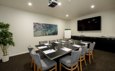 boardroom at Hotel Richmond meeting room adelaide